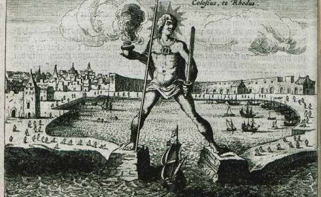 The Colossus of Rhodes: an intriguing tale