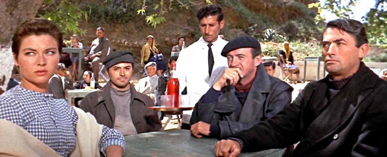 """Guns of Navarone"" - directed by J. Lee Thomson, 1961 – starring Gregory  Peck, Anthony Queen, David Nieven and Irine Papa"
