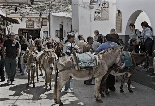A walk through history in Lindos
