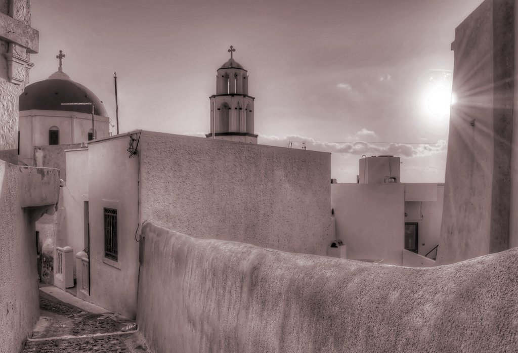 Alleys of Pyrgos