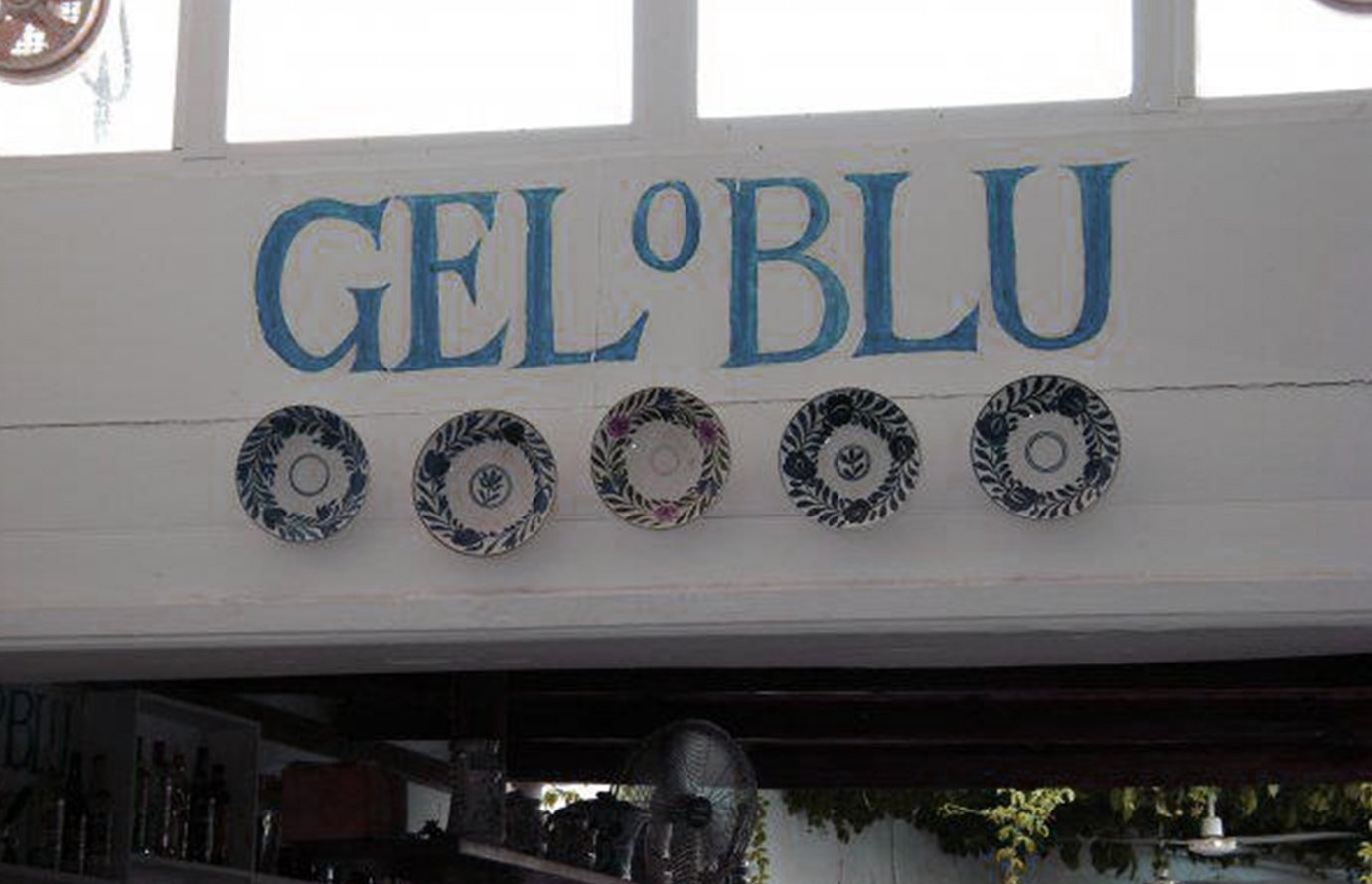 gel o blu icecream in Rhodes