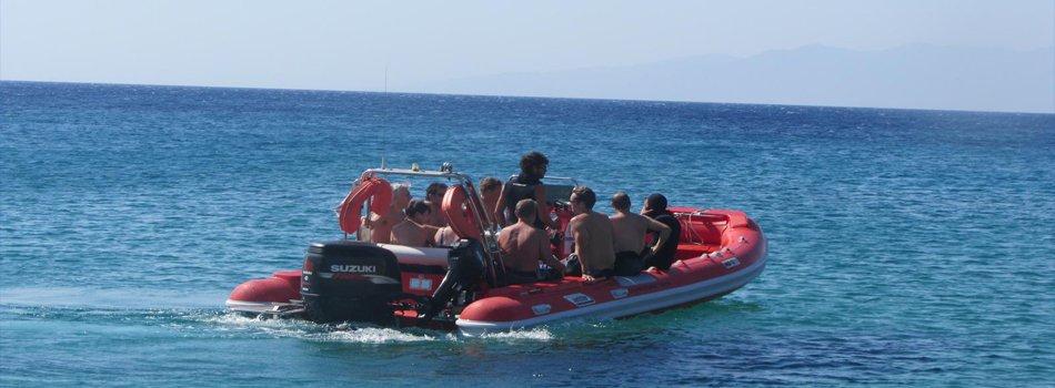Diving in Mykonos
