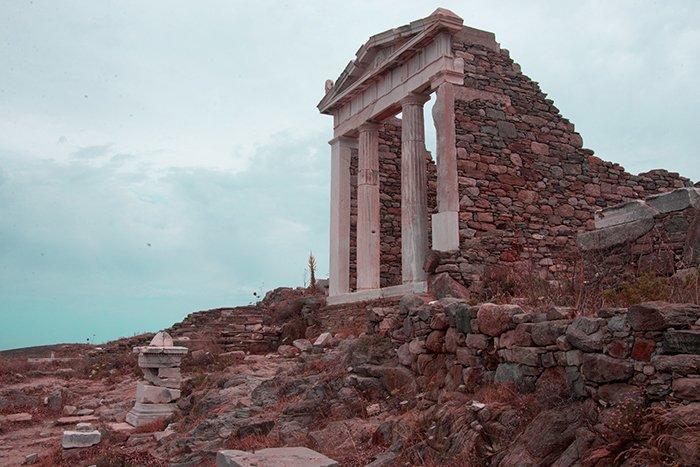 delos temple of Isida