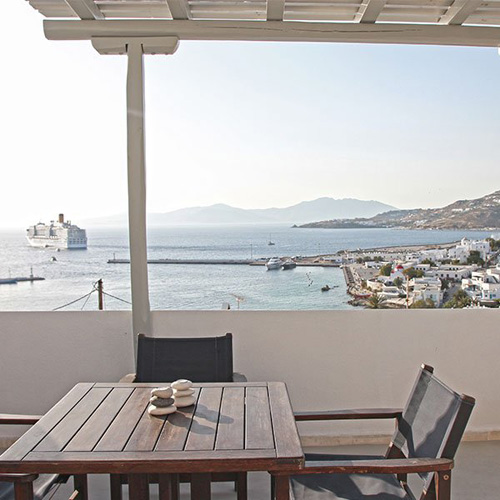 Suite - Sea terrace 4 persons